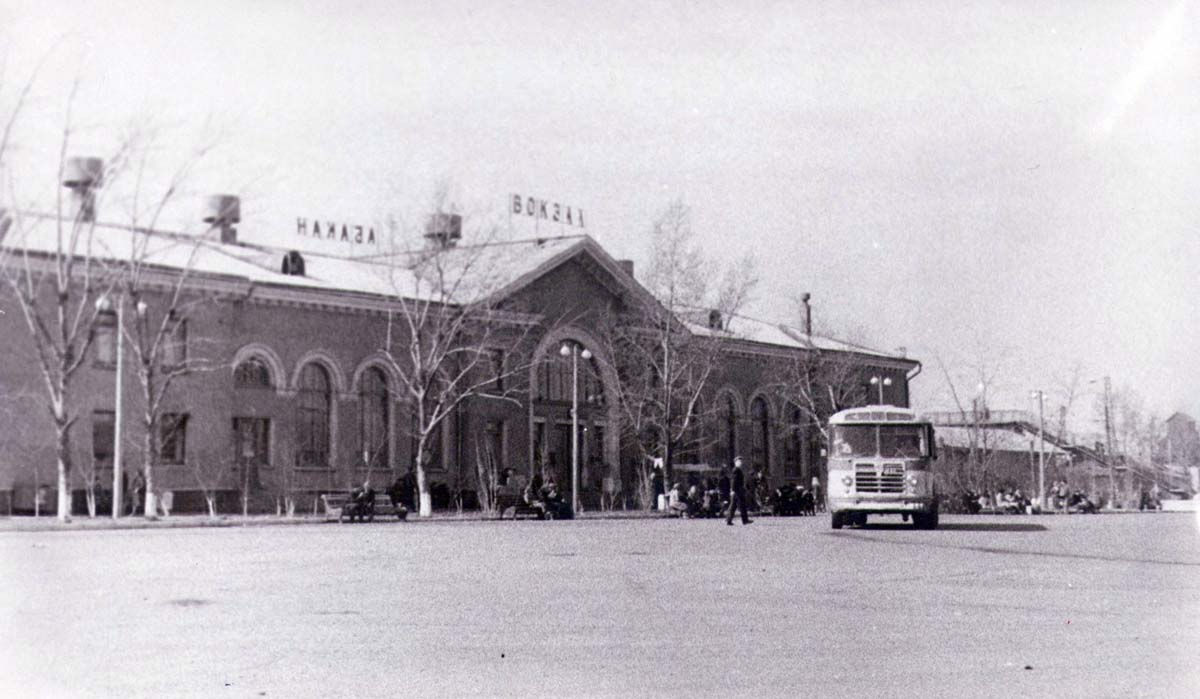 Abakan. Old Railway Station