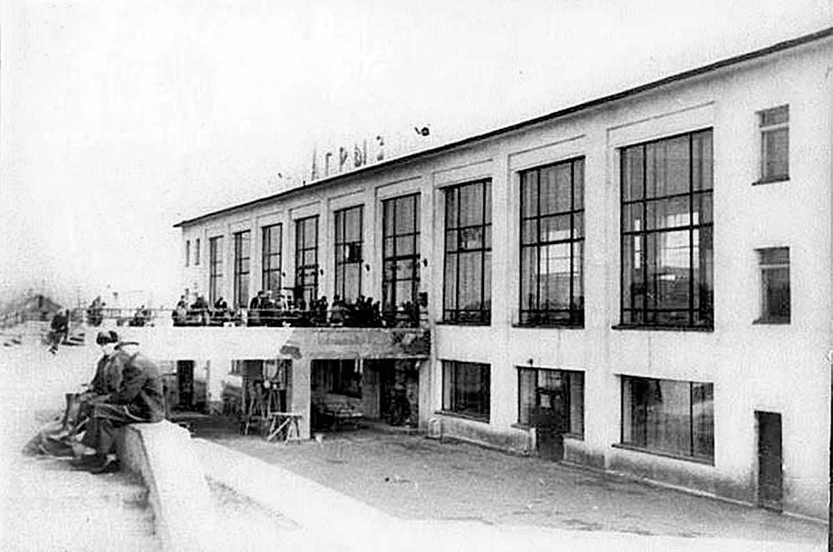 Agryz. Old Railway Station