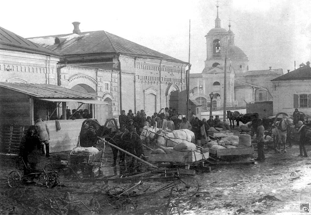 Akhtubinsk. Panorama of Vladimir Sloboda, 1929