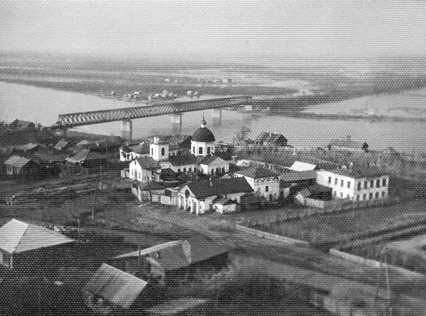 Alatyr. Bridge across the River Sura