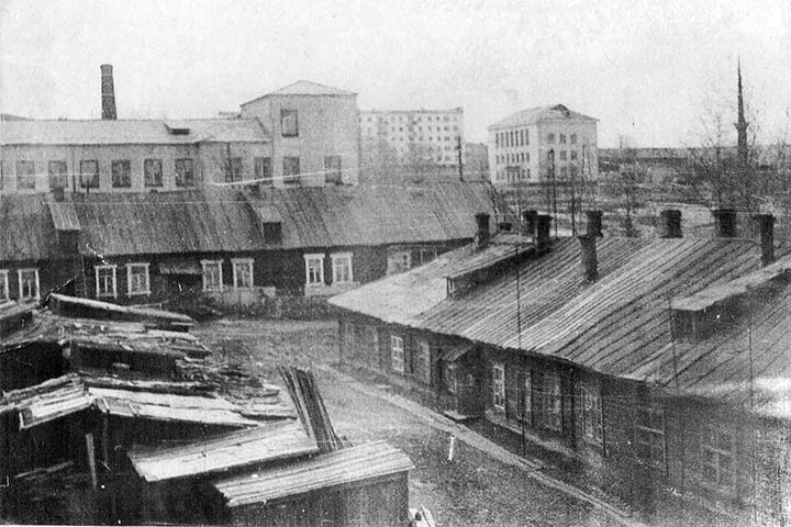 Alexandrovsk. Panorama of the city