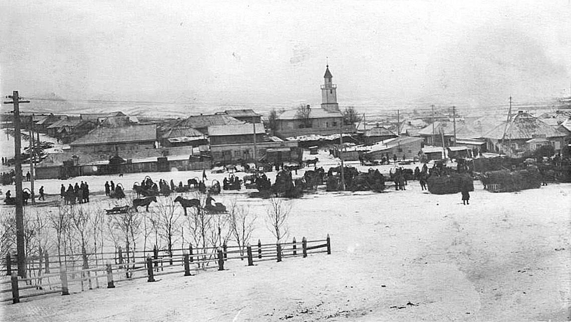 Alexandrovsk-Sakhalinsky. Marketplace