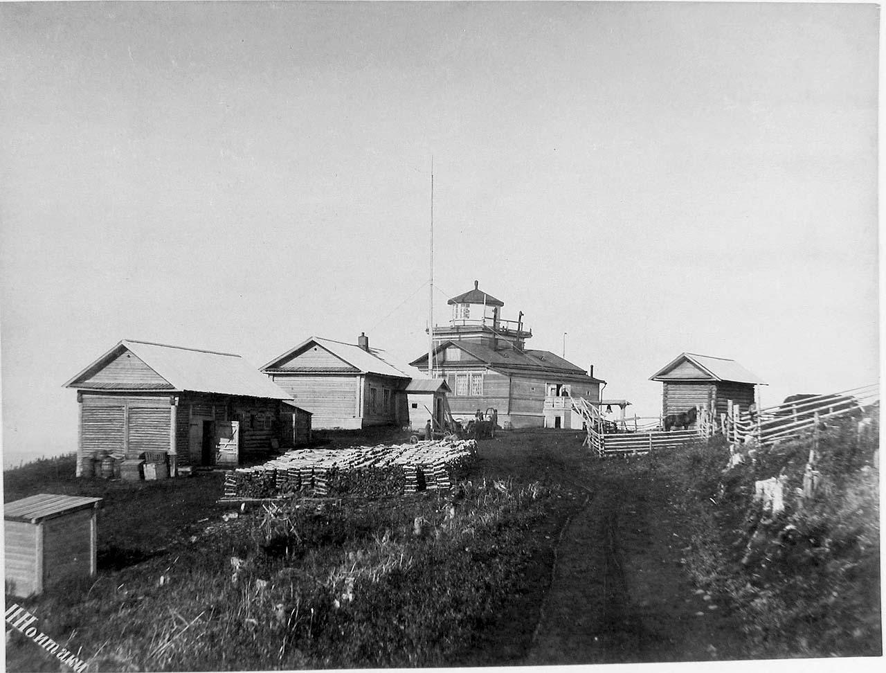 Alexandrovsk-Sakhalinsky. Lighthouse Zhonkier