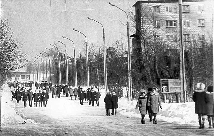 Alexandrovsk-Sakhalinsky. Dzerzhinsky Street