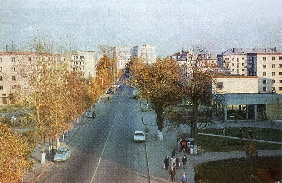 Alexandrov. Lenin Street, 1976