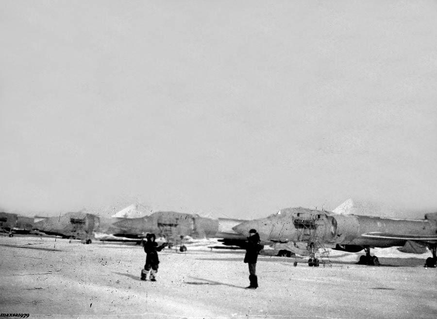 Amderma. Military airport