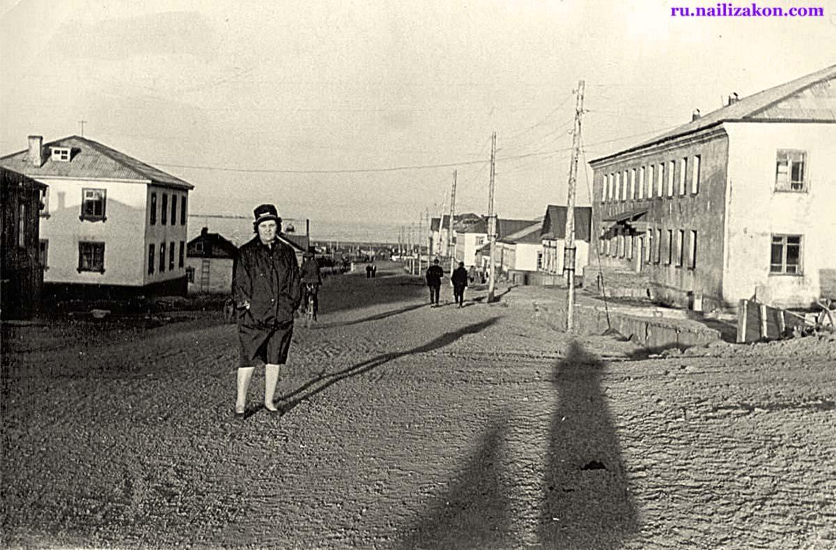 Anadyr. Lenin street, 1965