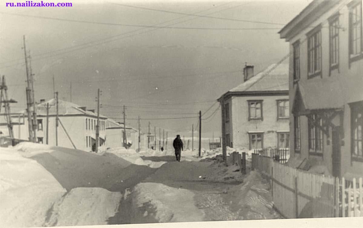 Anadyr. Rul'tytegin Street, 1964