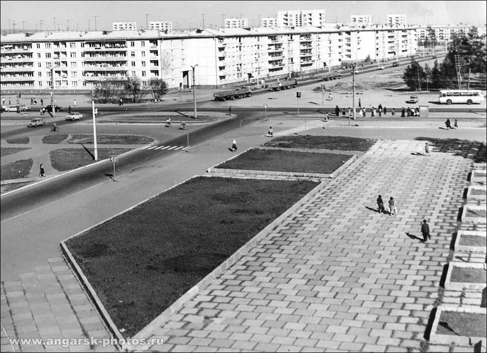 Angarsk. Socialist street