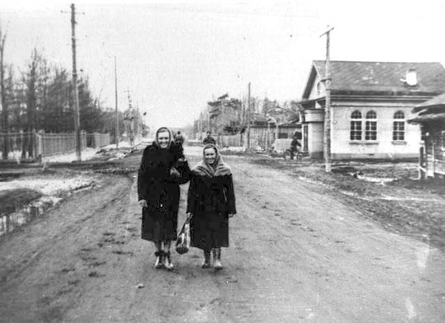 Aniva. Bank on Lenin Street, 1960