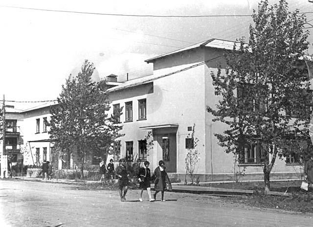 Aniva. Clinic on Lenin street