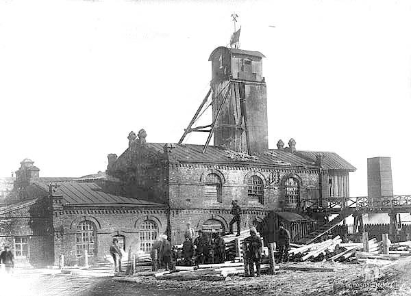 Anzhero-Sudzhensk. The mine №1, 1910