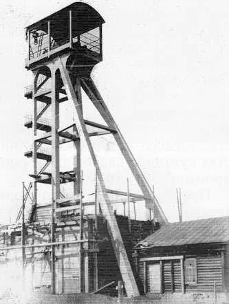 Anzhero-Sudzhensk. The mine № 5-7, 1928