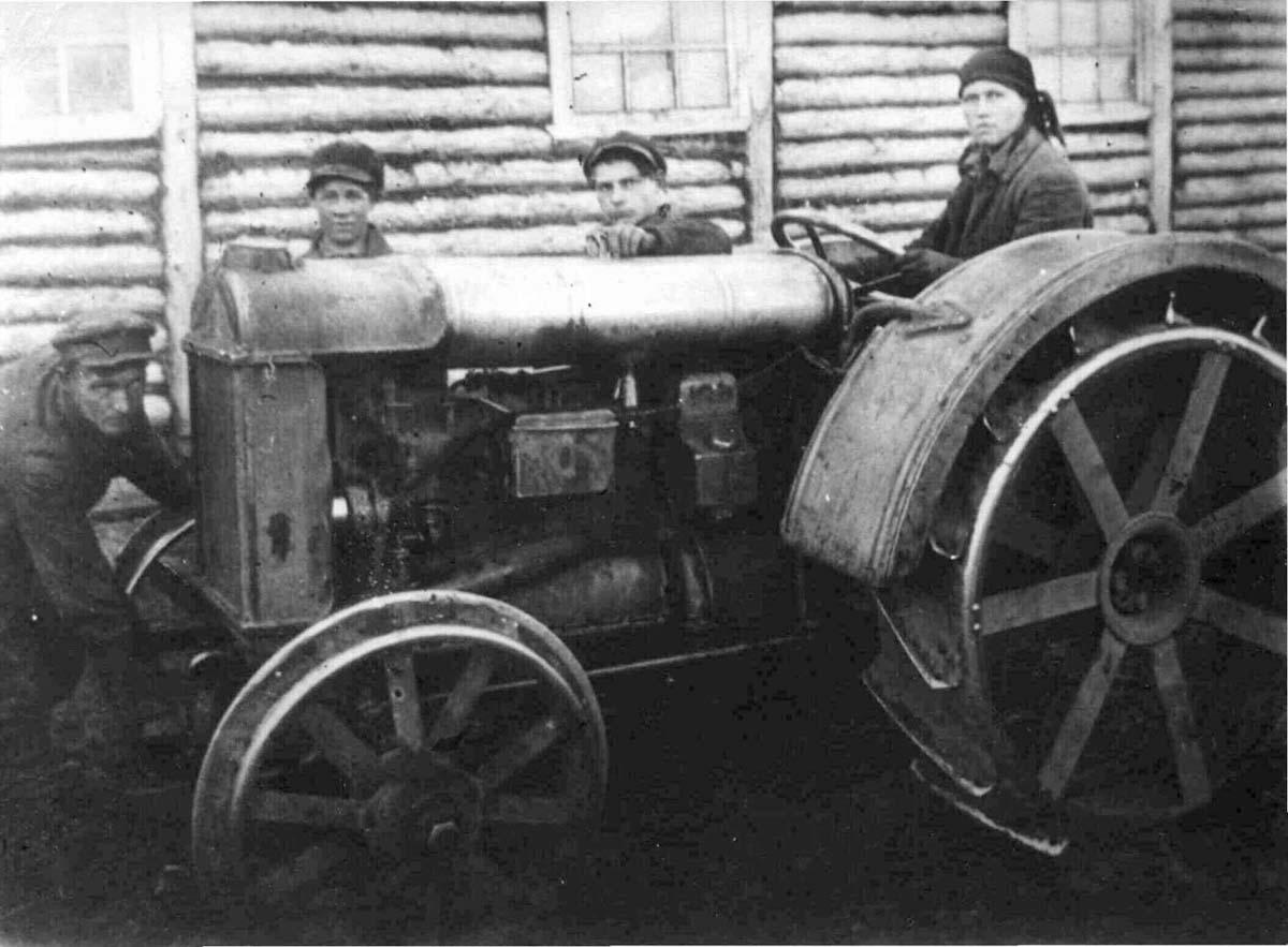Ardatov. Tractor