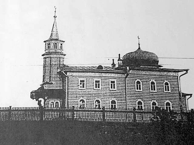Arkhangelsk. The mosque