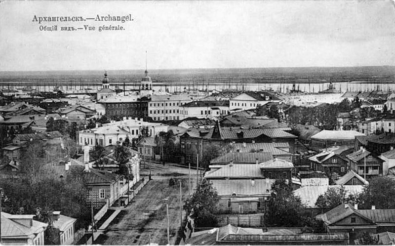 Arkhangelsk. General view