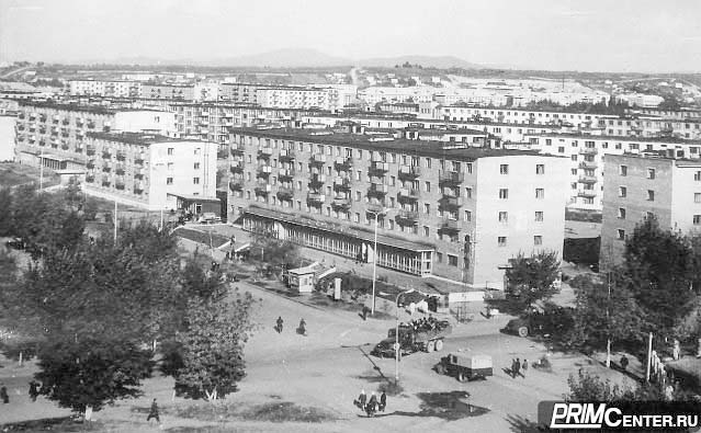 Arsenyev. Panorama of the city
