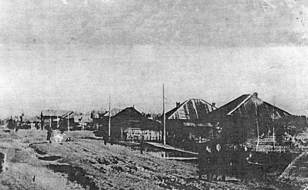 Asino. Panorama of city