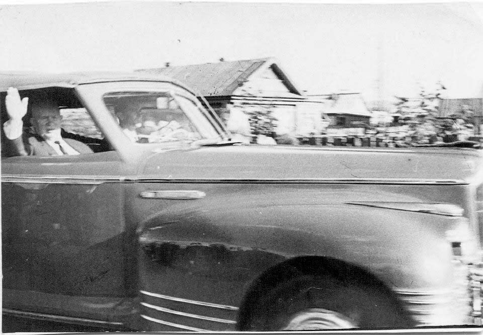 Aznakayevo. Arrival in city NS Khrushchev, Lenin street