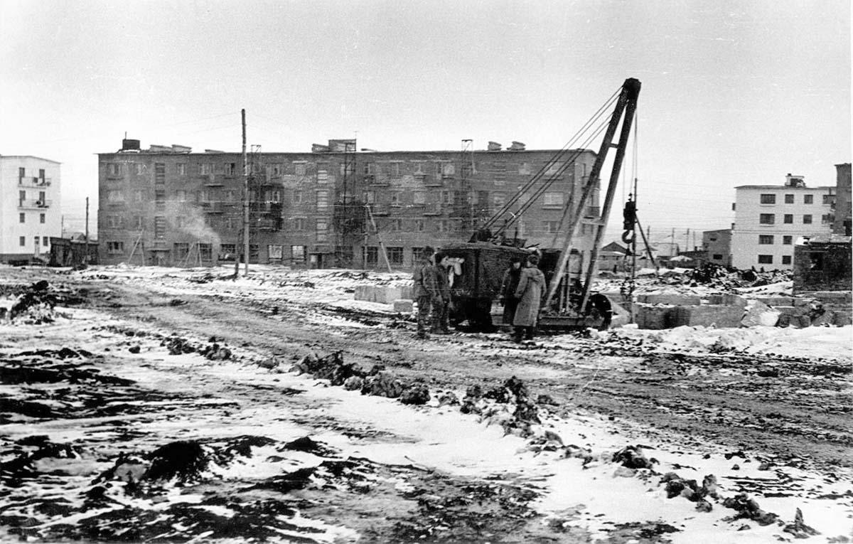Aznakayevo. Construction of the city