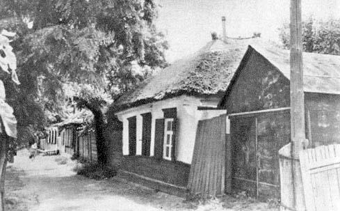 Azov. Pise house