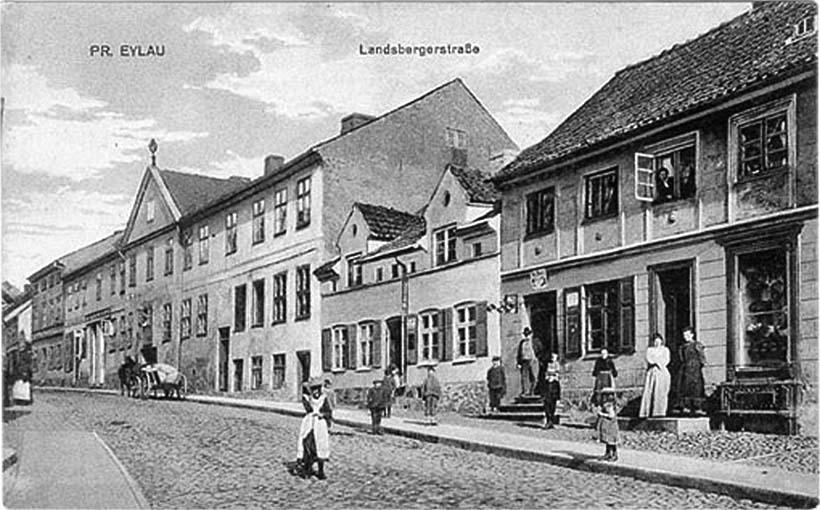 Bagrationovsk. Landsberger Strasse