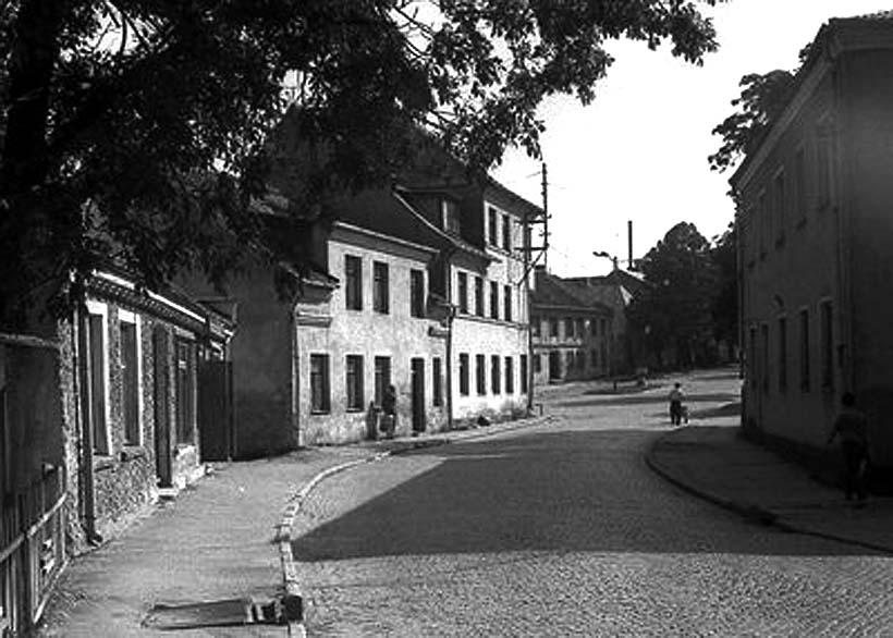 Bagrationovsk. Panorama of city, circa 1930