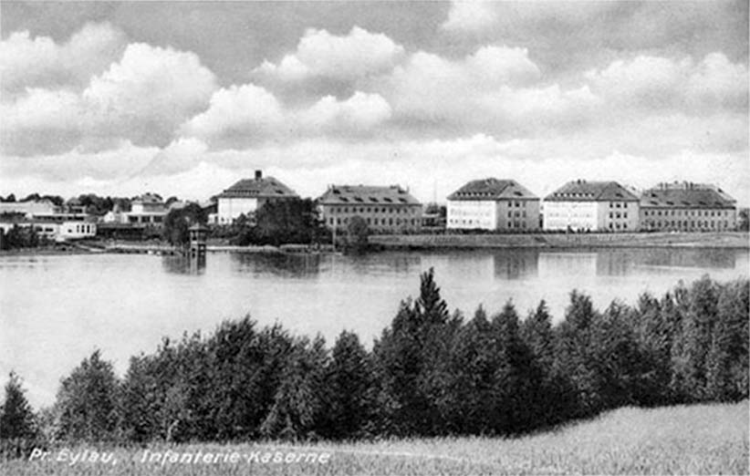 Bagrationovsk. Infantry barracks