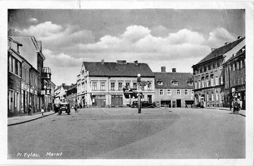 Bagrationovsk. Market