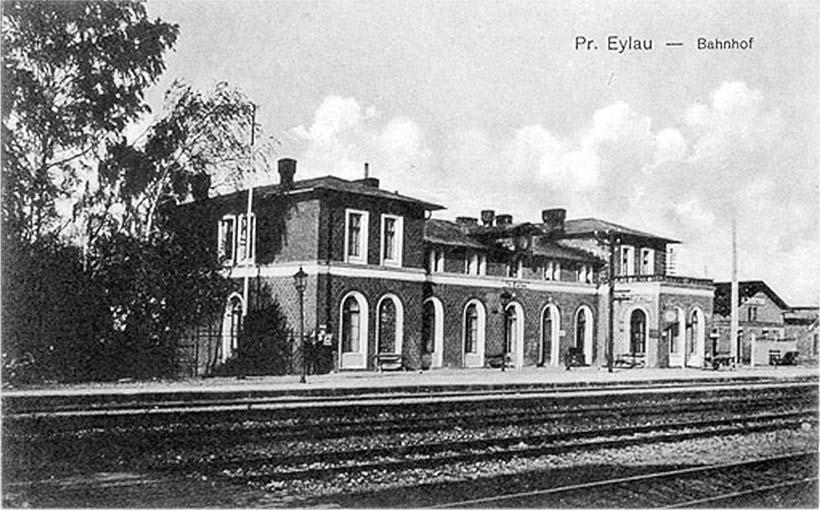 Bagrationovsk. Railway station