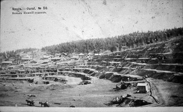 Bakal. Lower mine, 1907