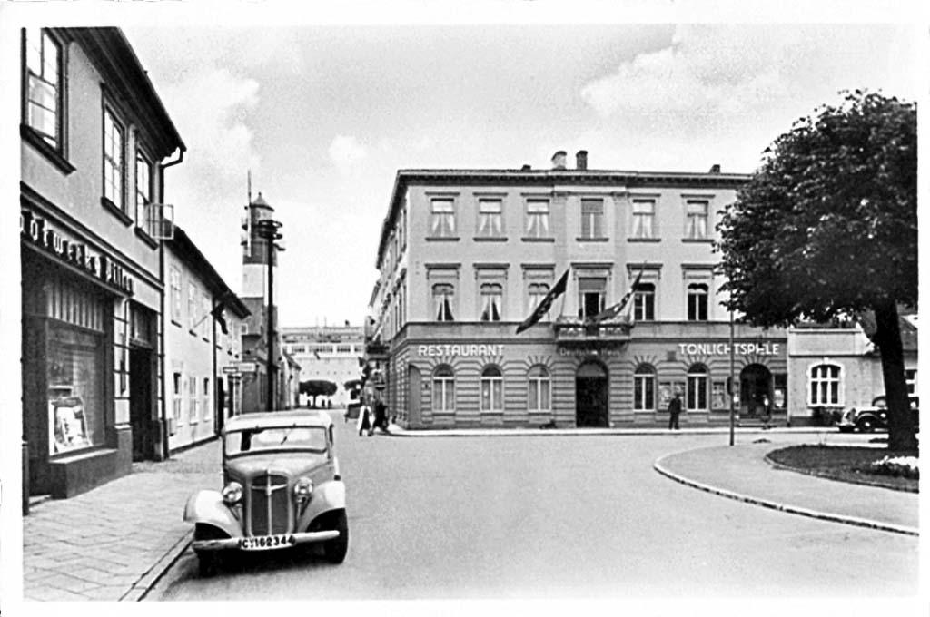 Baltiysk. The hotel 'German House'