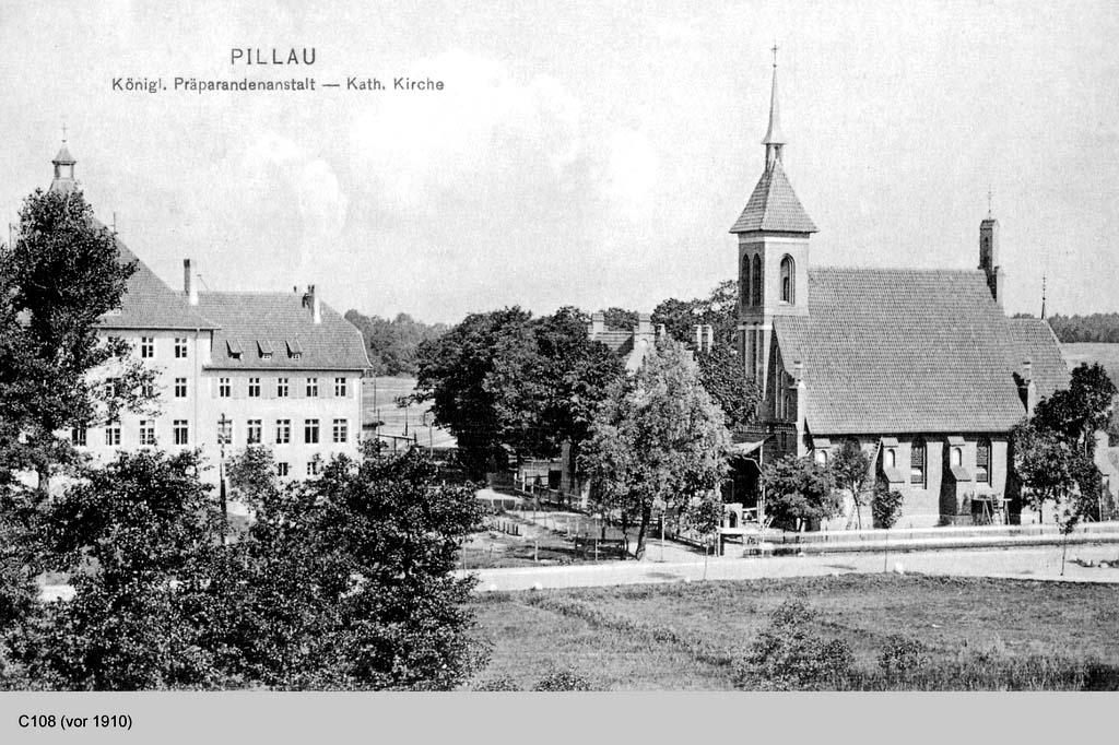 Baltiysk. Kirch Maria Stella Maris