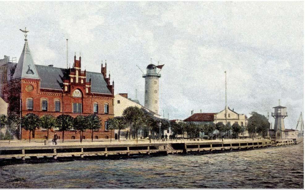 Baltiysk. The Embankment