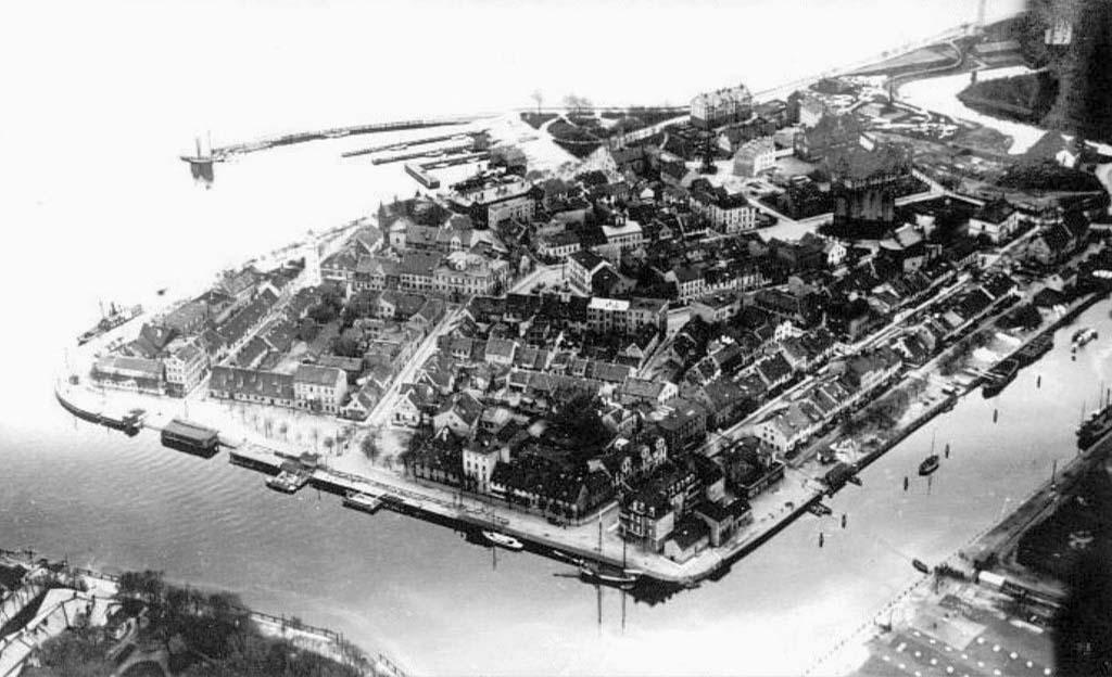 Baltiysk. Panorama of the city, 1928