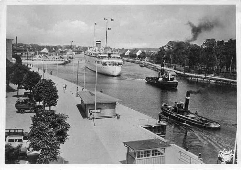 Baltiysk. Steamboat 'Tannenberg'