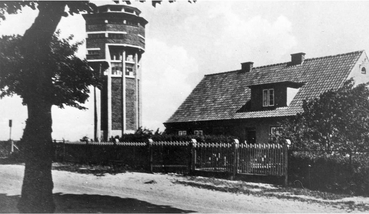 Baltiysk. Water and observation tower