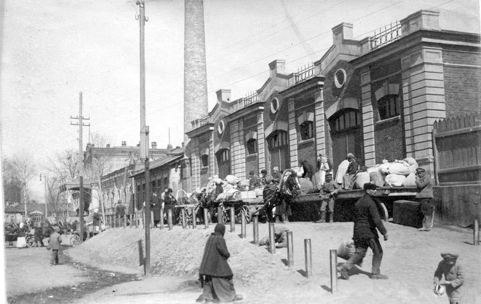 Belgorod. Station Square, 1918