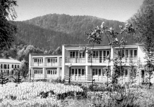 Belokurikha. Corps of the sanatorium 'Altai'