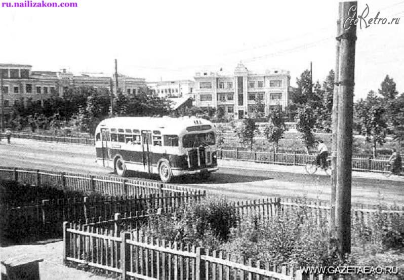 Birobidzhan. Sholem Aleichem Street, 1949