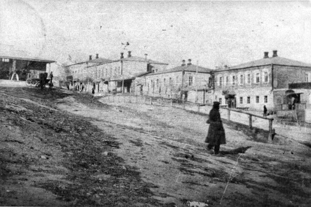 Biryuch. Panorama of the city