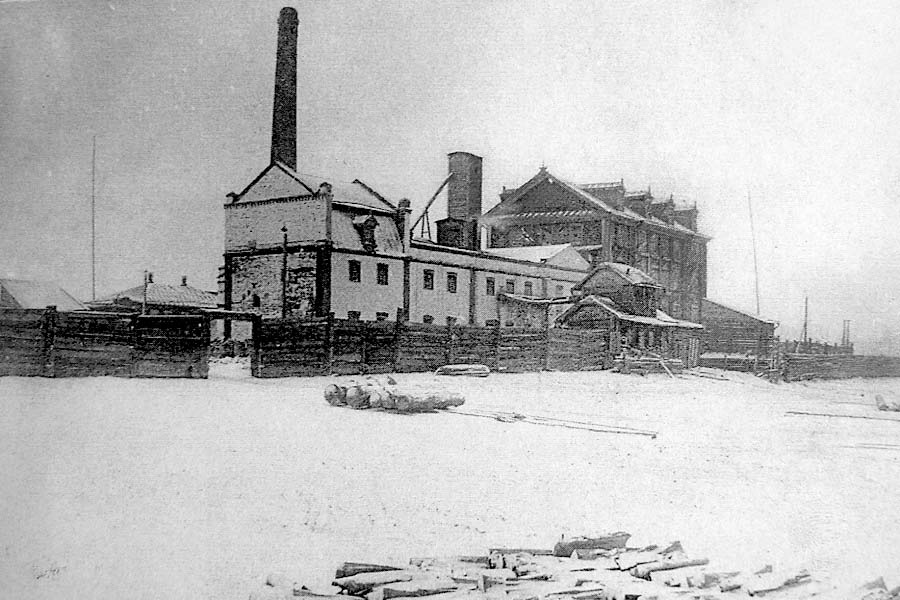 Biysk. Mill of Morozova's