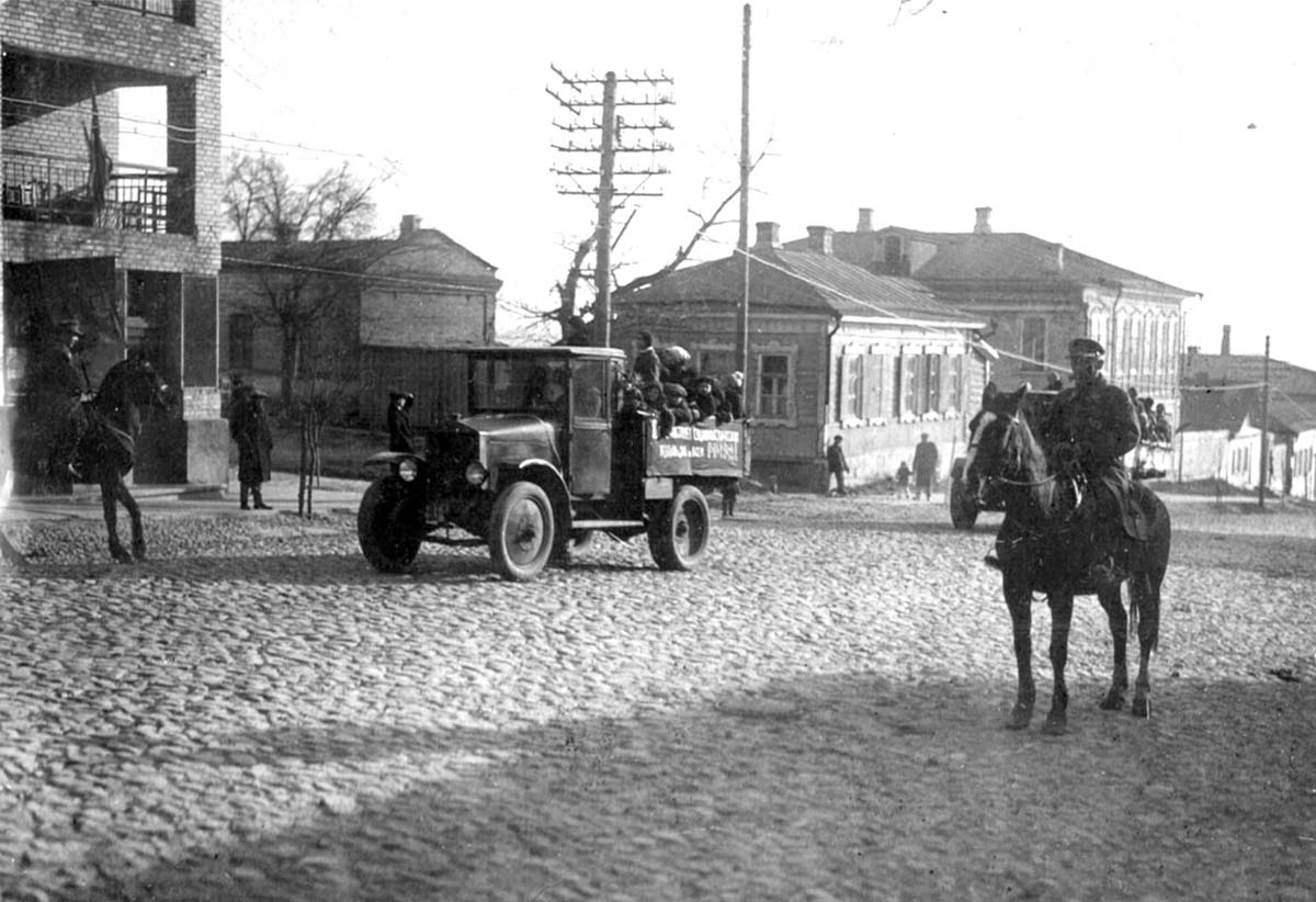 Bryansk. The intersection of streets Fokine and Lunacharsky, circa 1920's