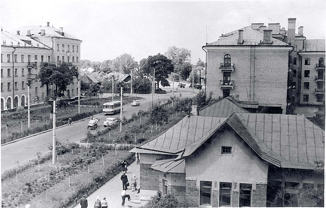 Bryansk. Kuibyshev street, circa 1970's