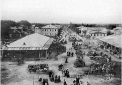 Velsk. Market day
