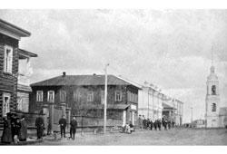Velsk. Vologodskaya Street, 1910s
