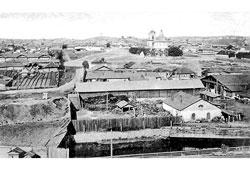 Verkhny Ufaley. Panorama of the city