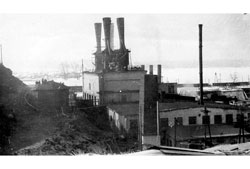 Verkhny Ufaley. Old steel smelting shop
