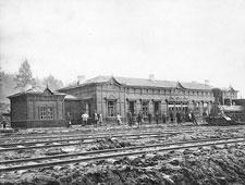 Verkhny Ufaley. Railroad station