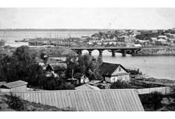 Volgograd. Astrakhansky bridge